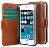 Melkco Wallet iPhone SE/5S hoesje Bruin