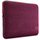 Case Logic Reflect MacBook 13 inch USB-C sleeve Paars
