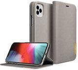 LAUT Prestige Folio iPhone 11 Pro Max hoes Taupe