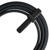Nomad USB-A Rugged Lightning 3 meter kabel Zwart