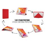 Pipetto Origami TPU iPad 2019 10,2 inch hoesje Rood