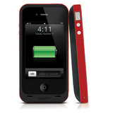 mophie Juice Pack Plus iPhone 4/4S Product Red_