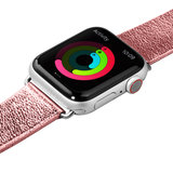 LAUT Metallic Leather Apple Watch 40 mm bandje Rose