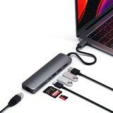 Satechi Multi Port USB-C hub V3 Ethernet en HDMI Grijs