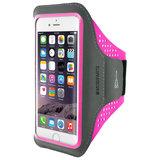 Mobiparts Comfort iPhone SE 2020 sportband Neon Roze