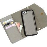 Casetastic Clutch iPhone SE 2020 / 8 hoesje Zilver