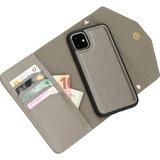 Casetastic Clutch 4 in 1 iPhone 11hoesje Zilver