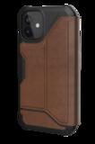 UAG Metropolis iPhone 12 mini hoesje Leather Bruin