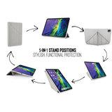 Pipetto Origami Metallic TPU iPad Air 2020 10,9 inch hoesje Goud