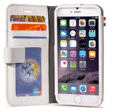 Decoded Leather Wallet case iPhone 6 White