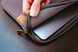MW Seasons MacBook 13 inch USB-C sleeve Blauw