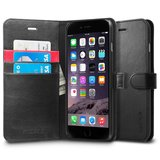 Spigen SGP Wallet iPhone 6 Plus Black