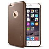 Spigen Leather Fit case iPhone 6 Brown