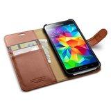 Spigen Wallet Galaxy S5 Black