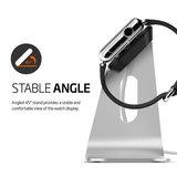 Spigen aluminium Watch stand Silver
