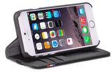 Decoded Leather Wallet iPhone SE 2020 / 8 / 7 / 6 hoesje Zwart