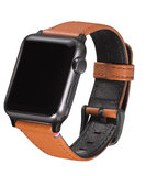 Decoded Leather Strap Watch 38 mm Brown