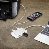 MacAlly USB-C Hub Silver