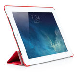Pipetto Origami Smart case iPad 2/3/4 Red