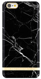 Richmond Finch Marble Glossy case iPhone 6/6S Black