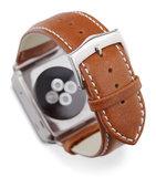 dbramante1928 Leather Watch strap 42 mm Silver Tan