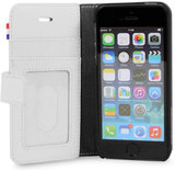 Decoded-Leather-Wallet-case-iPhone-5S-Polka-White
