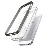 Spigen Neo Hybrid Crystal iPhone SE Gun Metal