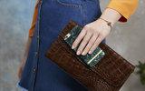 Richmond Finch Marble Glossy iPhone 7 Plus hoesje Green