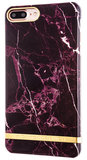 Richmond Finch Marble Glossy iPhone 7 Plus hoesje Red