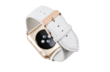 dbramante1928 Leather Watch strap 42 mm White