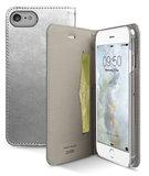 SBS Mobile Metallic Book iPhone 7 hoesje Silver