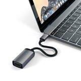 Satechi USB-C naar VGA 1080P adapter Zilver
