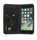 Decoded Leather Wallet iPhone 8/7 hoesje Zwart