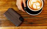Twelve South BookBook iPhone X Wallet hoesje Bruin