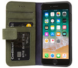 Decoded Leather Wallet iPhone 7/8 hoesje Groen