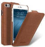 Melkco Leather Jacka iPhone 8 hoesje Bruin