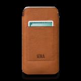 Sena Ultraslim Wallet iPhone X hoesje Tan