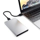 Satechi Aluminium USB-C harde schijf behuizing Zilver