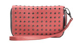Decoded Leather Studs Wallet Pink_