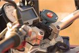 Tigra FitClic Neo iPhone 8/7/6 motorfietshouderZwart