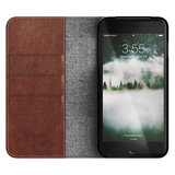 Nomad Leather Folio iPhone 8/7 Plus hoes Bruin