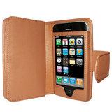 Piel Frama Wallet iPhone SE/5S Tan