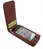 Piel Frama Magnetic iPhone 4/4S Croco Brown_