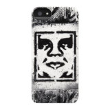 Incase Snap case iPhone 5/5S Shepard Fairey Stencil White_
