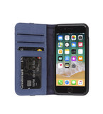 Decoded Leather Wallet iPhone 8/7 hoesje Blauw