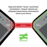 BodyGuardz Ace Pro iPhone XS Max hoesje Doorzichtig