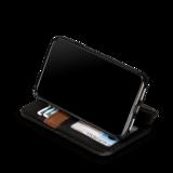 Sena Bence WalletBook iPhone XS Max hoesje Zwart