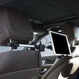 MacAlly HRMOUNT iPad autohouder en auto oplader Zwart