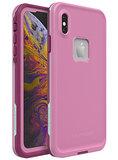 LifeProof Fre iPhone XS Max waterdicht hoesje Roze