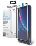 BodyGuardz Pure 2 Edge Glass iPhone XR screenprotector